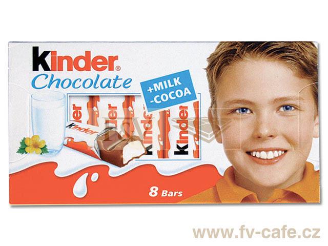 Kinder surprise, kinder čokoláda (6výrobků)
